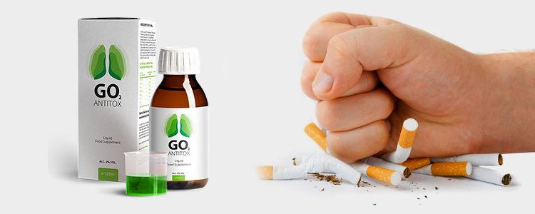 Eliberează-plamani - verificați supliment alimentar Go2 Antitox in farmacii
