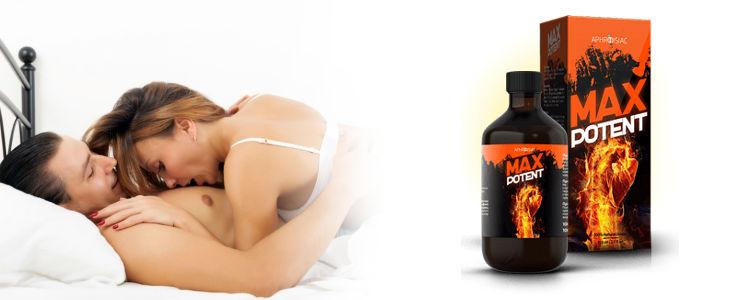 Max Potent in farmacii - cele mai bune picături pentru potenta