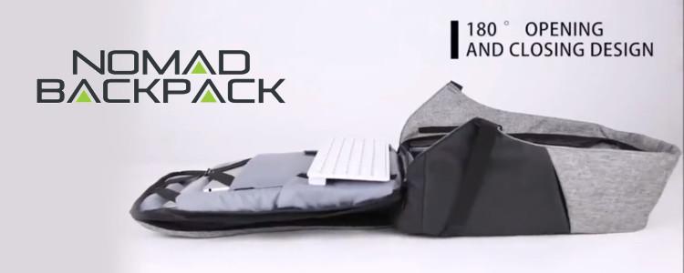 Nomad Backpack forum - principalele caracteristici rucsac