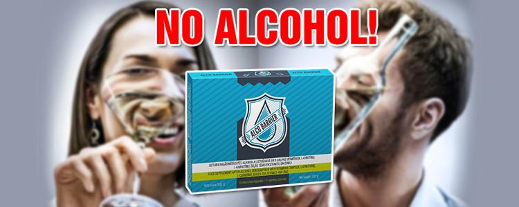 AlcoBarrier: acțiuni și efecte secundare