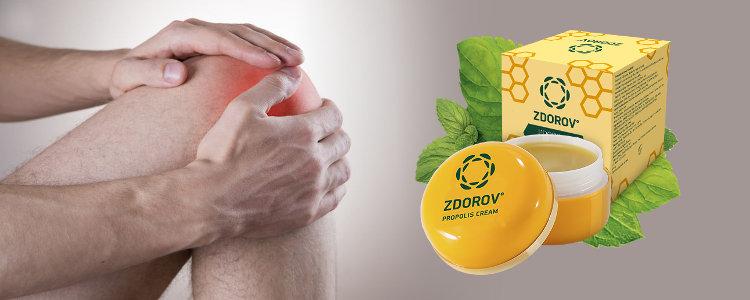 Zdorov Propolis Cream functioneaza – funcționează rapid și eficient, pentru a învinge durerea