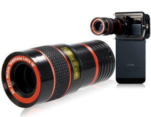 QX9 HD Zoom functioneaza de înaltă calitate, fotografii și clipuri video de pe telefon