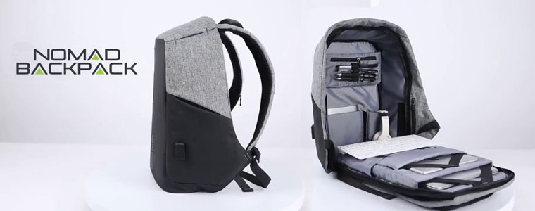 Nomad Backpack romania - rucsac anti-furt cu un port USB