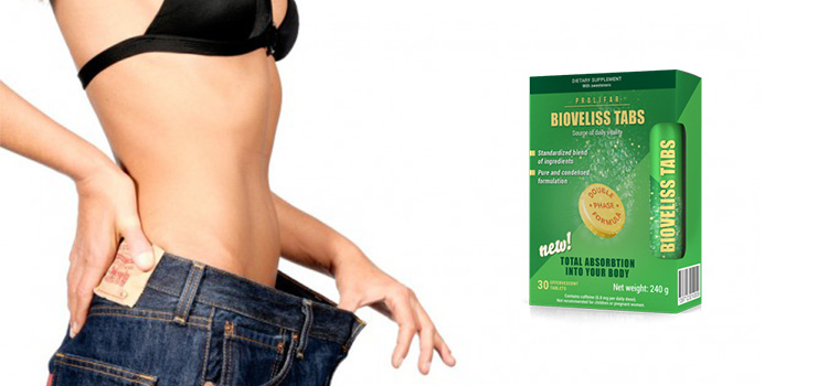 Ingrediente naturale comprimate efervescente Bioveliss Tabs