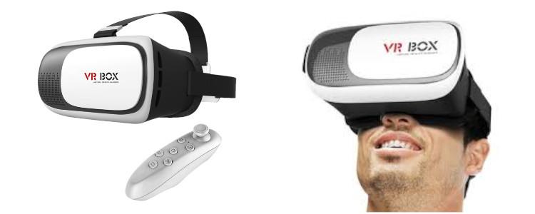 Cum funcționează VR BOX VR BOX OCHELARI 3D comanda?